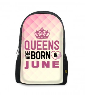 june printed backpacks