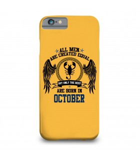 october printed mobile cover