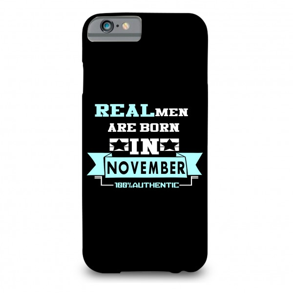 november printed mobile cover