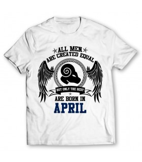 april printed graphic t-shirt