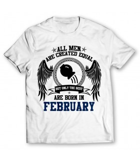 february printed graphic t-shirt