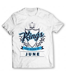 kings printed graphic t-shirt