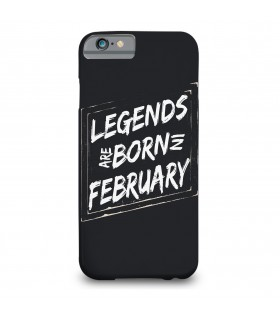 february printed mobile cover