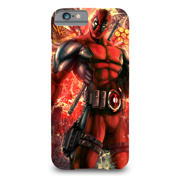 deadpool printed mobile cover