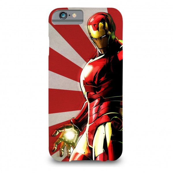iron man printed mobile cover