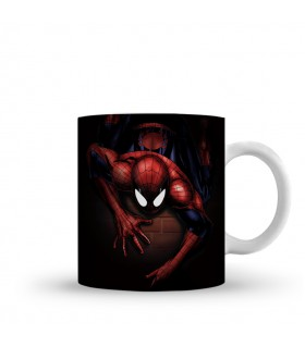 spider man printed mug