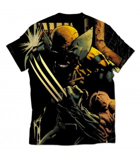 Wolverine all over printed t-shirt