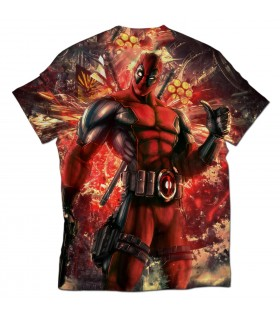 deadpool all over printed t-shirt