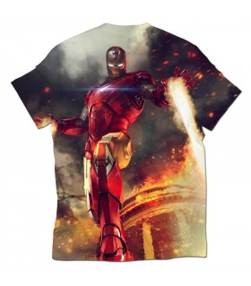 iron man all over printed t-shirt
