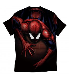 spider man all over printed t-shirt