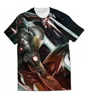 war machine all over printed t-shirt