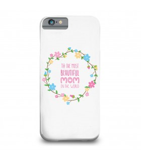 beautiful mom printed mobile cover