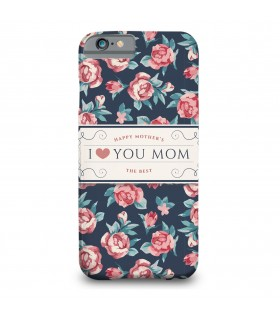 love you mom printed mobile cover