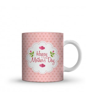 happy mothers day love printed mug