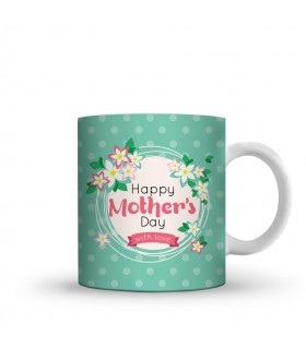 happy mothers day which love printed mug