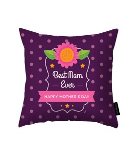 best mom ever printed pillow