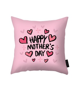 happy mothers day printed pillow