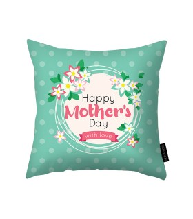 happy mothers day which love printed pillow