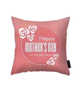 the best mom printed pillow