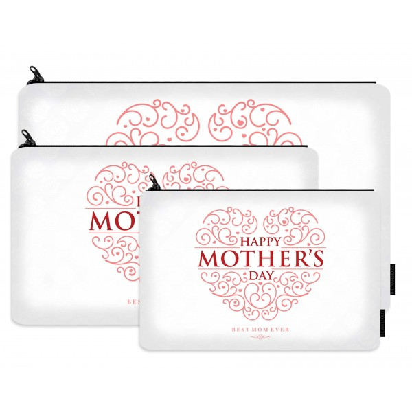 best mom printed makeup pouch