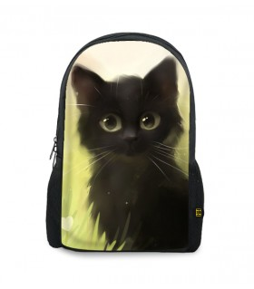 catty printed backpacks