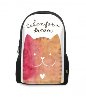 taken for a dream printed backpacks