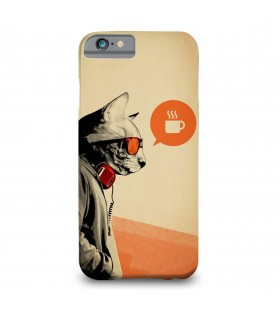 Agent cat printed mobile cover