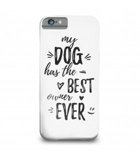 dog has the best printed mobile cover