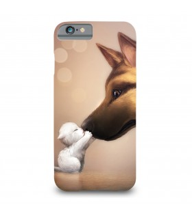 dog n cat printed mobile cover
