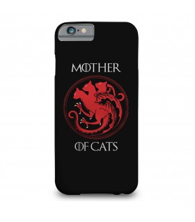 mother of cats printed mobile cover