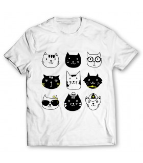 tic tac meow printed graphic t-shirt