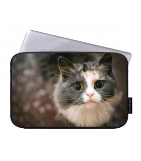 Sweet Cat printed laptop sleeves