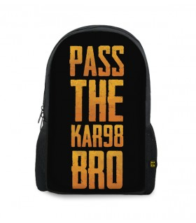 pass the kar98 printed backpacks