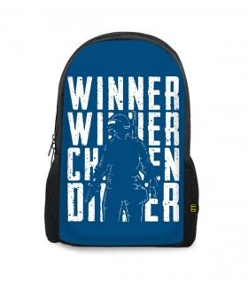 winner chicken printed backpacks