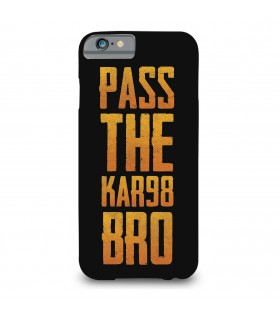 pass the kar98 printed mobile cover