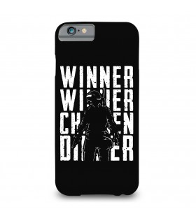winner chicken printed mobile cover