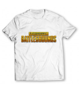 pubg printed graphic t-shirt