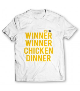 winner winner printed graphic t-shirt