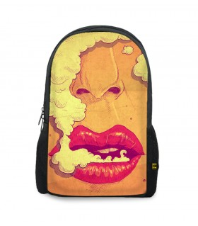 Stoner printed backpacks