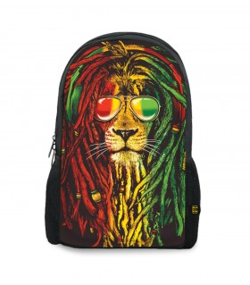 rasta weed printed backpacks