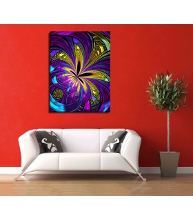 abstract weed canvas frames
