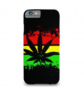 Republic of weed printed mobile cover