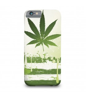 United states of weed printed mobile cover
