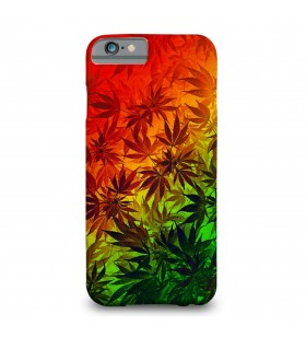ganja weed printed mobile cover