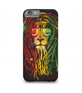 rasta weed printed mobile cover