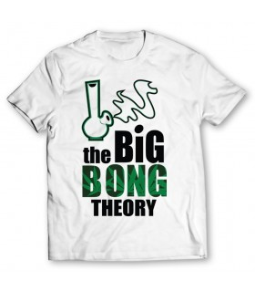 big bong printed graphic t-shirt