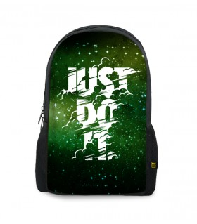 just do it printed backpacks