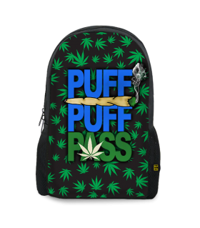 puff pass printed backpacks