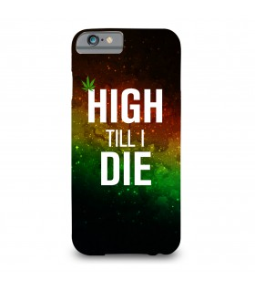 high till i die printed mobile cover