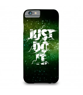 just do it printed mobile cover